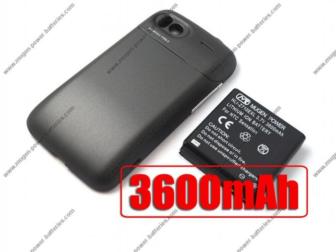 [HLI-Z710EXL] Buy Mugen Power 3600mAh Extended Battery for HTC Sensation / T-mobile Sensation / HTC Sensation XE with Battery Door $95.95  #android #htc #batteries #phones