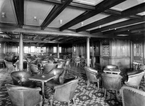 Second Class Smoking Room 2 Rms Titanic Pinterest