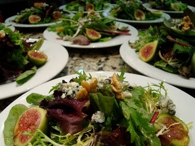 Fig and Blue Cheese Salad | SaVory | Pinterest