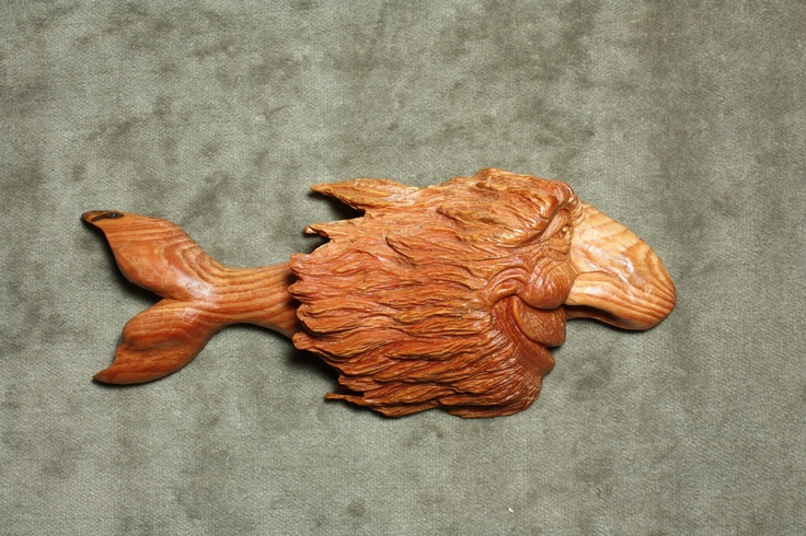 Fish wood carving carvings pinterest