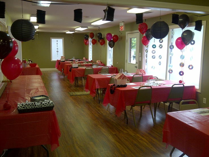 The Room Looked Awesome Graduation Party Decor Ideas