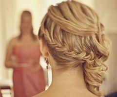 Classy formal hair
