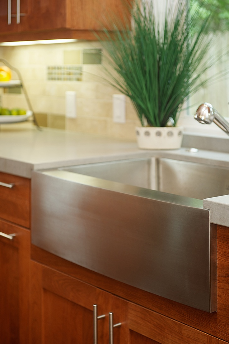 Stainless Steel Apron Sink..I have this sink in the box..waiting to ...