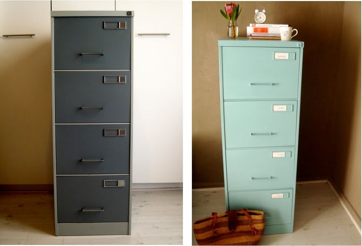 Paint a filing cabinet crafty fun pinterest for How to paint metal file cabinet