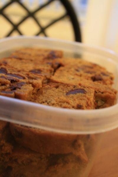 Pumpkin pecan chocolate chip bread What could make pumpkin better ...