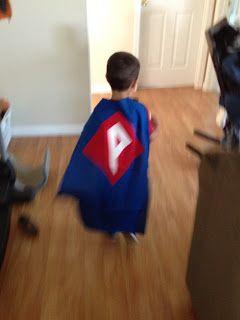 superhero cape - pattern & instructions