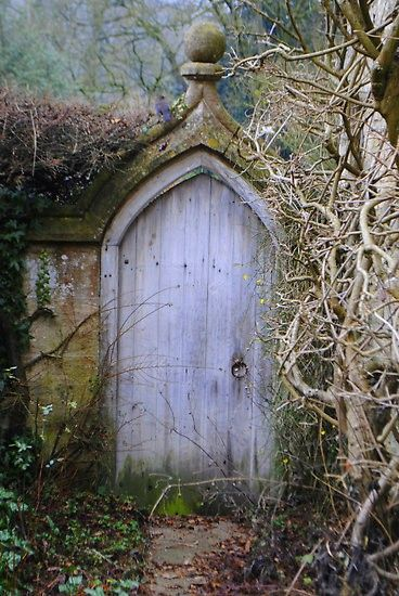 Reminds me of a wall and door where we stayed at Rydall Hall in the UK.