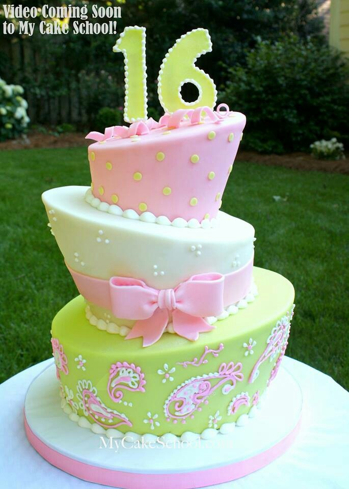 Birthday Cake Images Sweet : Sweet 16 Recipes/Cake Ideas! Pinterest