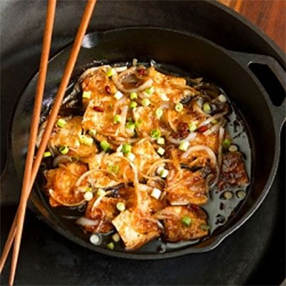 Caramel-Cooked Tofu | FOOD/RECIPES/NUTRITION | Pinterest