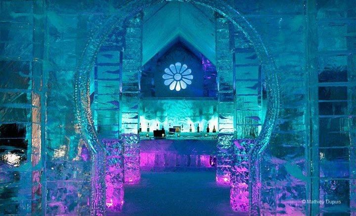 Hotel De Glace Quebec City Canada There That You May Be