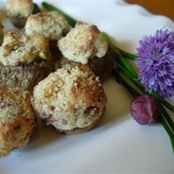 The Best Stuffed Mushrooms | Amazing Appetizers and Snacks | Pinterest