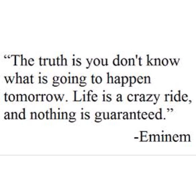 quotes about life by eminem quotesgram