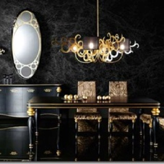 Black And Gold Home Decor Pinterest