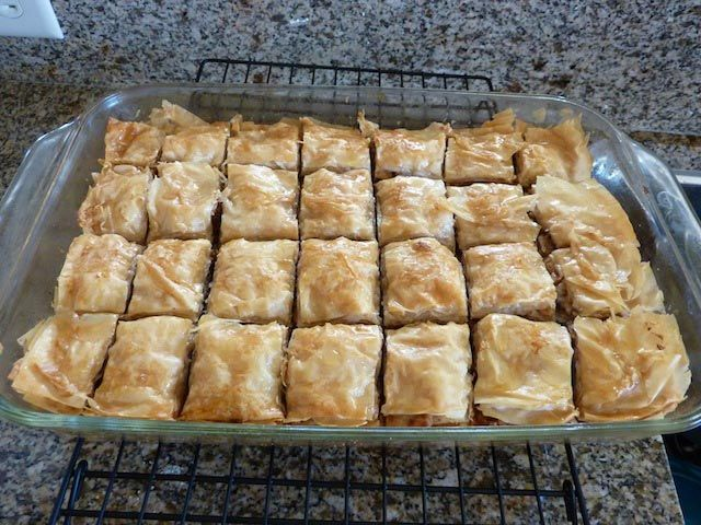 Easy Baklava Recipe | Food Ideas | Pinterest