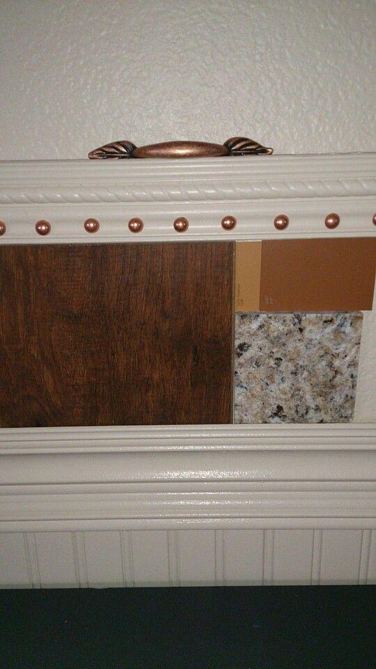 Valspar Countertop Paint : Hickory floors, paint colors Valspar at Lowes port, toasty fireplace ...