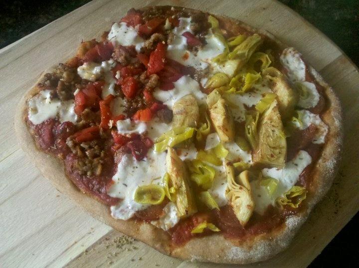 Easy Whole Wheat Pizza On The Grill Recipe — Dishmaps