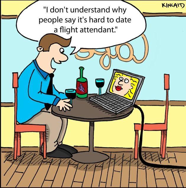 Dating a male flight attendant