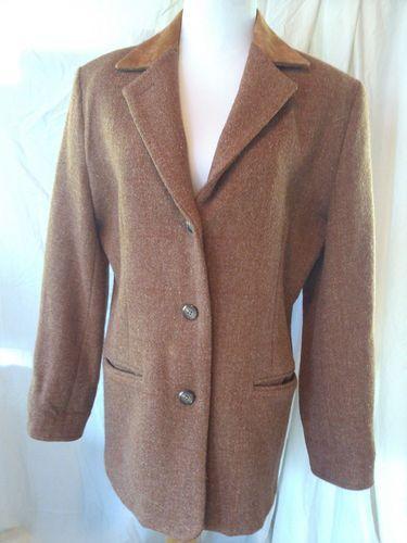 Harris Tweed Coat / Jas