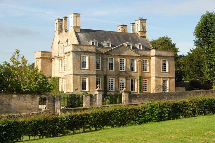 English Manor House Manor Facade Pinterest