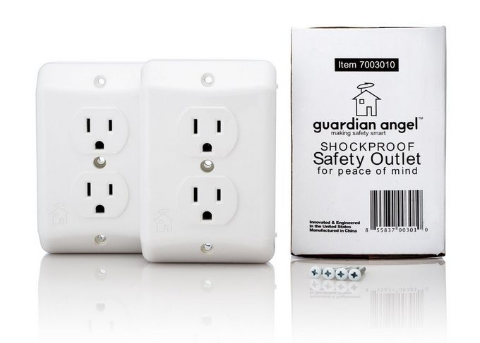 Babyproofing: The Guardian Angel Outlet is the smartest and safest we've seen