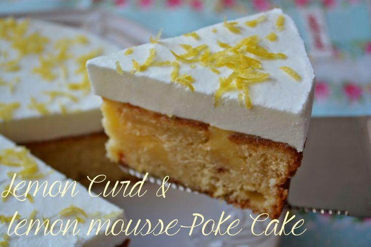 Lemon Curd Mousse Cake Recipes — Dishmaps