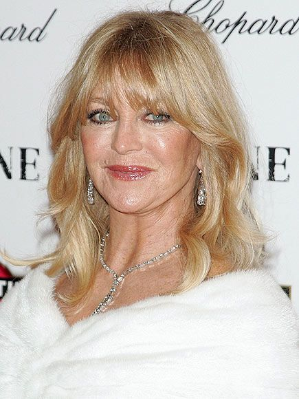 graduated hairstyles : Goldie Hawn Doing good things http://thehawnfoundation.org/