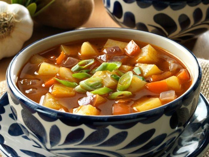 Chunky Tomato and Potato Soup | alexander | Pinterest