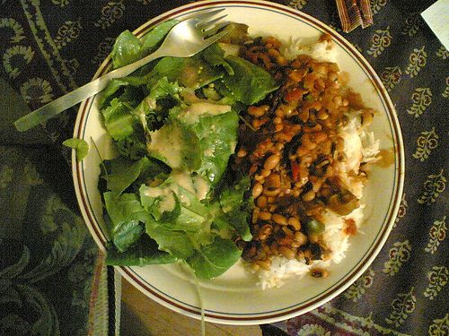 Spicy hoppin' john recipe for New Year's Day