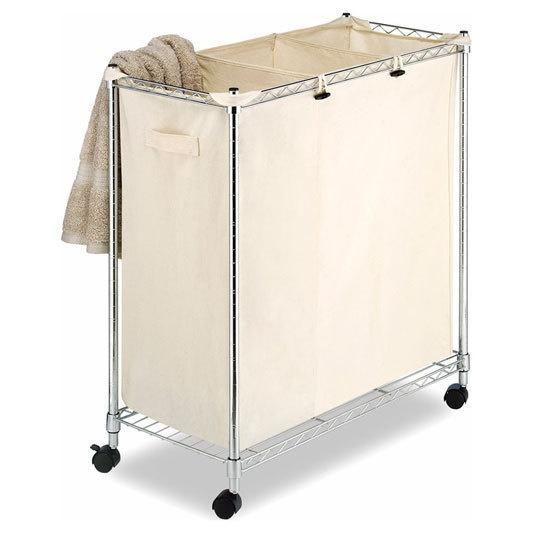 Supreme laundry sorter on wheels for the home pinterest - Laundry hamper wheels ...