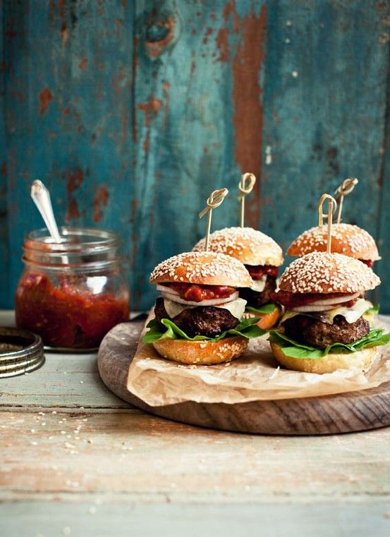 mini burgers | cooking | Pinterest