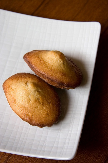 Earl grey and honey madelines | C is for cookie | Pinterest