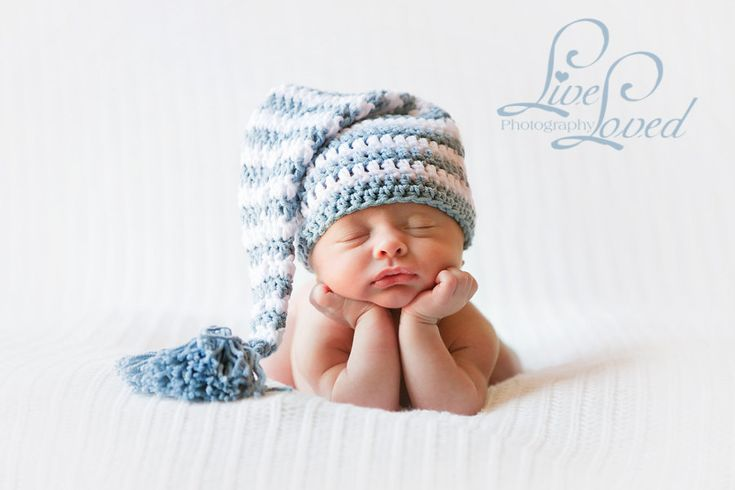 Crochet Tassel Hat Pattern For Baby : Download PDF crochet pattern 013 - Elf long tail hat with ...