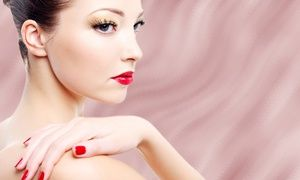 Groupon - Gel Manicure, Spa Pedicure, or One or Two Spa Gel Mani- Spa