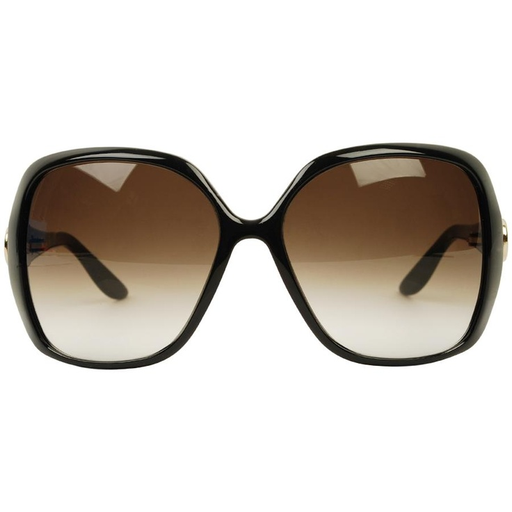 Big Frame Sunglasses : GUCCI Web Side Large Frame Sunglasses Crazy Bananas ...