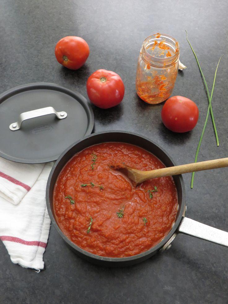 homemade marinara sauce | Recipes South Beach | Pinterest