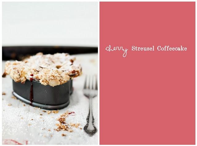 Cherry Streusel coffeecake YUMMO!!!