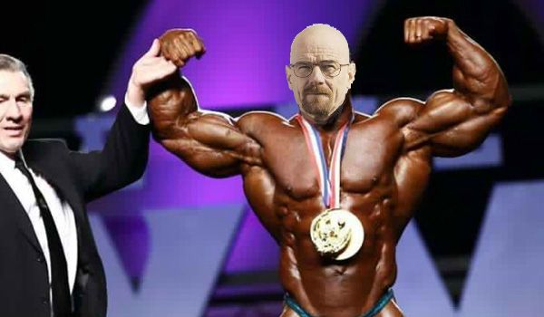 and the winner is.... WALTER WH....Heath
