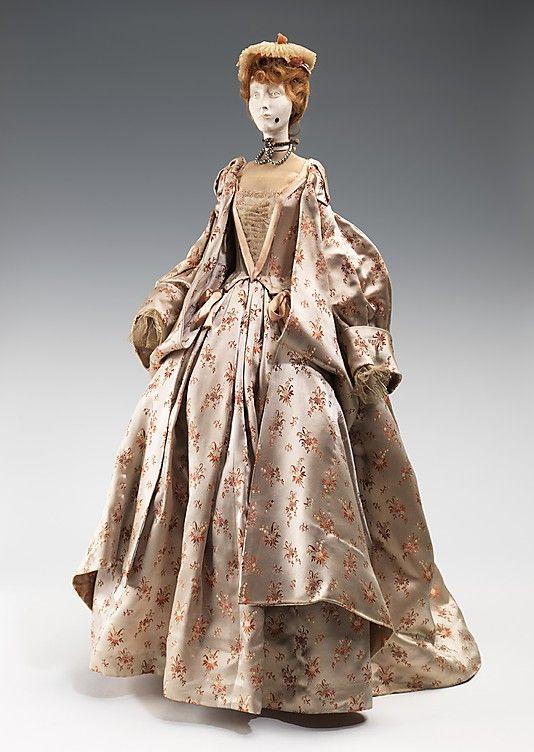 1715 Кукла Марселем Роша (металл, гипс, волосы, шелк, лен, стразы, жемчуг), 1949.  ММА
