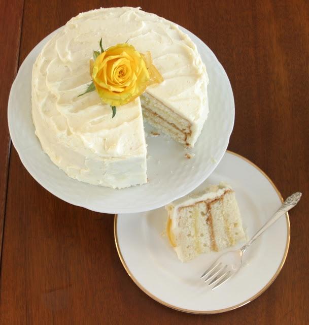 Triple Lemon Layer Cake | Lemon, Lime, and Orange | Pinterest