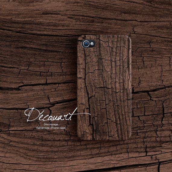 Wood iPhone 4s case. Wood pattern S007