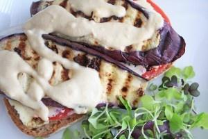 grilled eggplant sandwich | Eat Clean Recipes | Pinterest