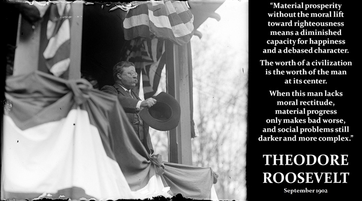 money isn't everything | Motivational & Inspirational ... Theodore Roosevelt