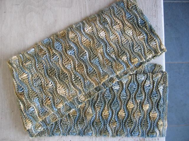 Wave Knitting Pattern : ocean waves
