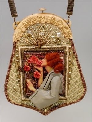 exquisite beaded purses ~ by bead artist Diane Hyde