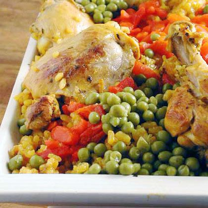Arroz con Pollo (Chicken with Rice) by Cooking Light