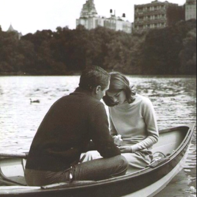 A boat ride for two.