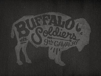 Buffalo Soldiers / 9th Cavalry by Joe Horacek