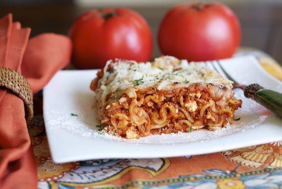 Homestyle Lasagna | Food! | Pinterest