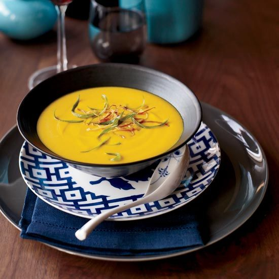 Thai Red-Curry Squash Soup // More Delicious Soups: www.foodandwine ...