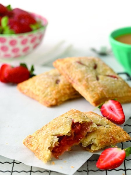 Strawberry Hand Pies - These pies are easy to assemble and a fun way ...